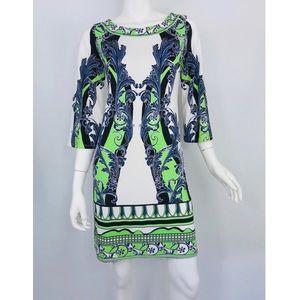{Hale Bob} Printed Design Matte Microfiber Dress